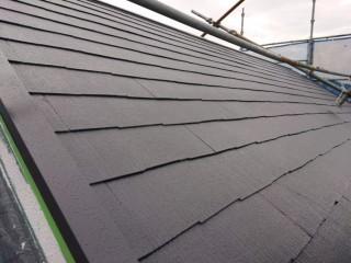 泉南市の屋根塗装完了