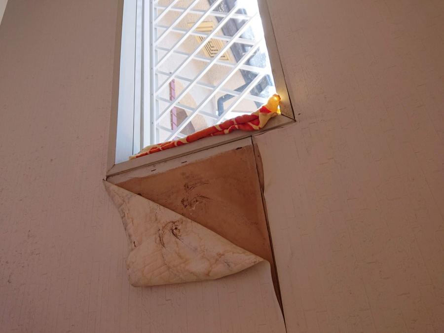 岸和田市の窓からの雨漏り修理のご提案内容