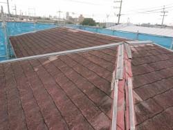 岸和田市の屋根塗装前
