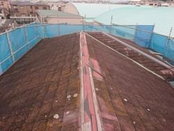 岸和田市の台風被害に遭った棟