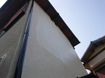 貝塚市の補修した外壁を塗装