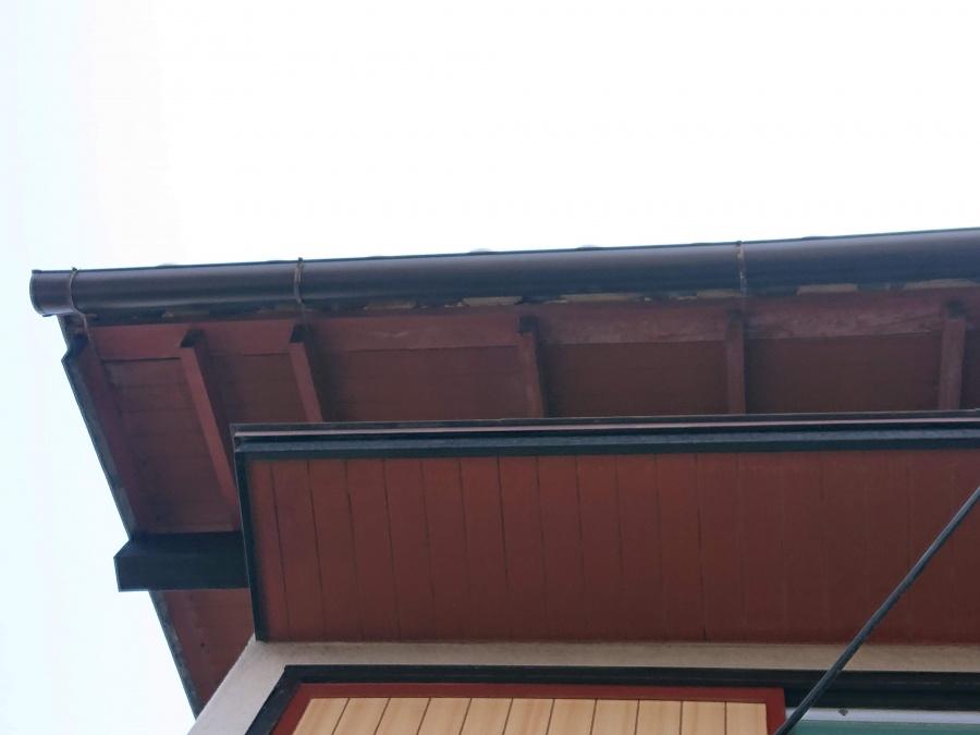 貝塚市の雨樋を交換