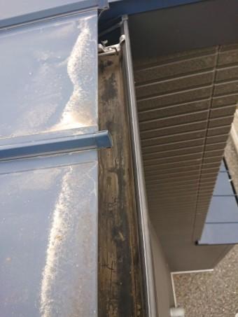高石市の雨樋清掃完了