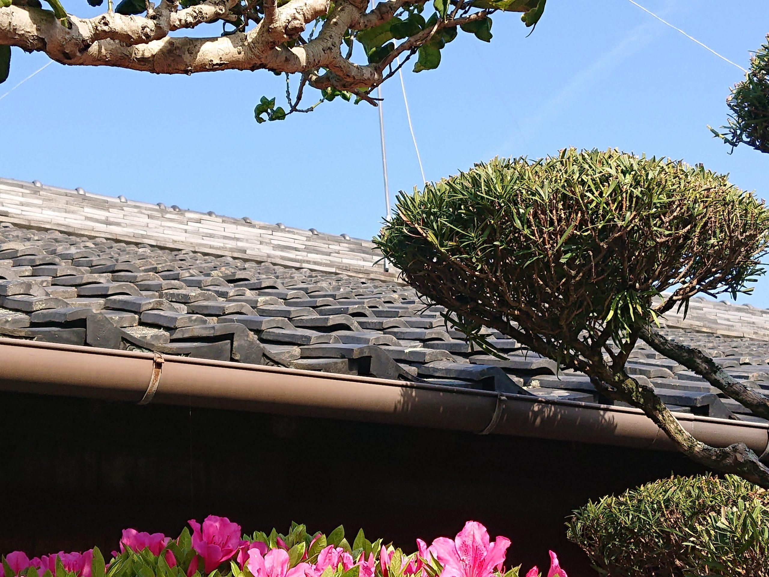 岸和田市の屋根修理前