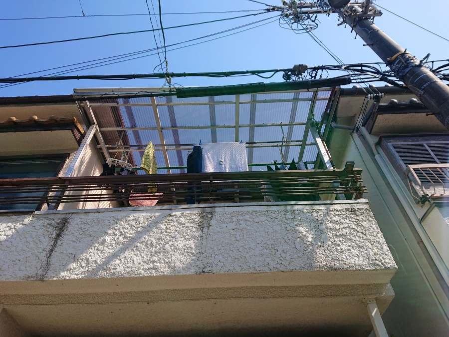 泉大津市の波板張替え完了