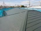 岸和田市の屋根塗装後