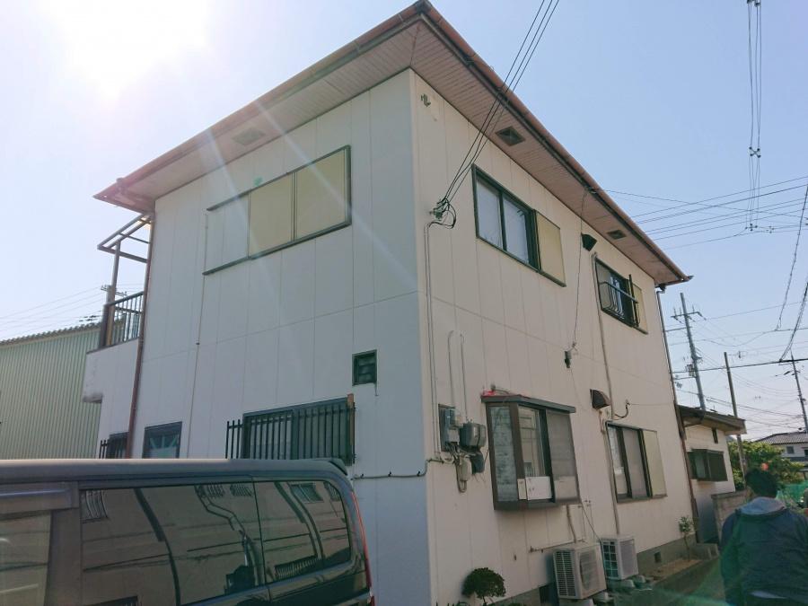 岸和田市の外壁塗装前の外観