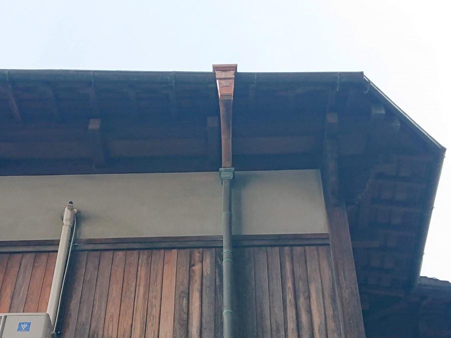 泉佐野市の交換した樋