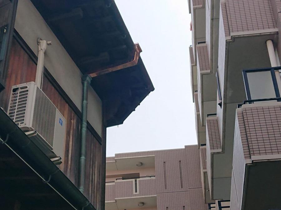 泉佐野市の樋の交換完了