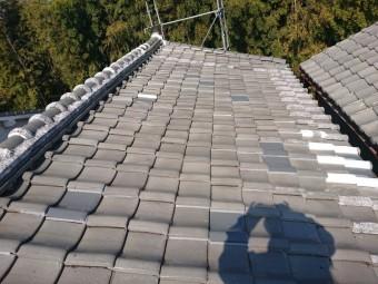 忠岡町の屋根の修理完了