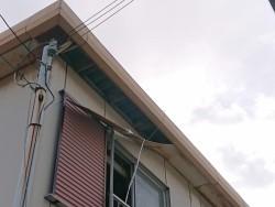 岸和田市の強風で外れた軒天