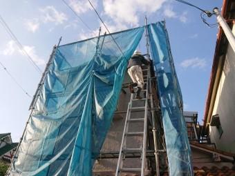熊取町の屋根工事