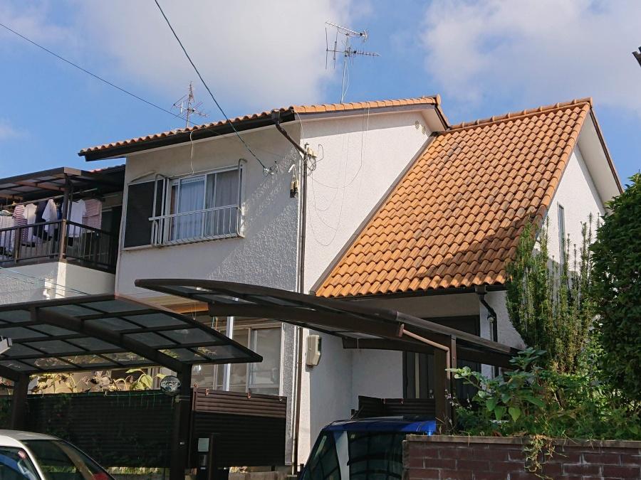 和泉市の屋根を葺き替えます