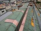 岸和田市の修理後の銅板屋根