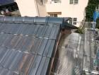 泉佐野市の台風被害に遭った屋根の修理完了