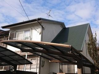 和泉市の屋根葺き替え完了