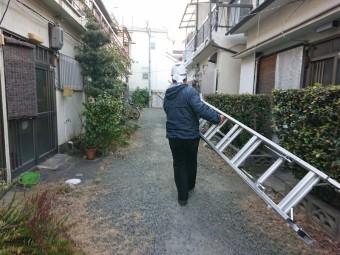 岸和田市の屋根の調査