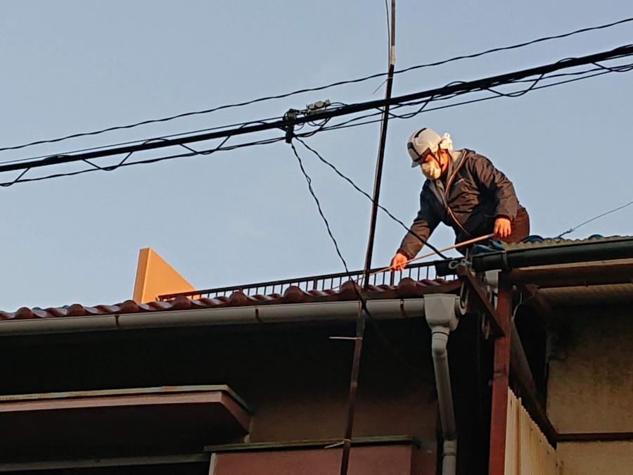 街の屋根やさん岸和田店のコロナ対策