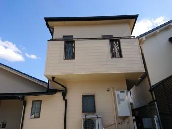 和泉市のサイディング外壁の塗装完了