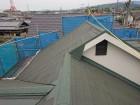 岸和田市のスレート屋根を塗装します