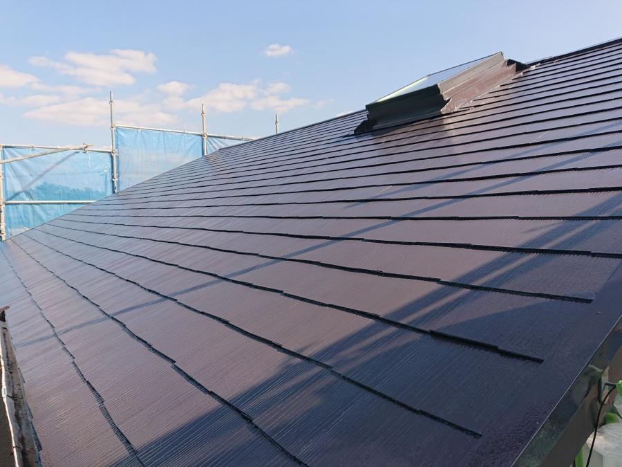 和泉市の塗装後の屋根