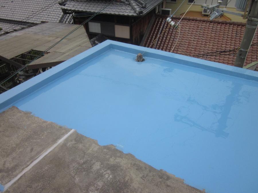 和泉市の陸屋根防水工事