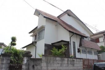 岸和田市摩湯町の屋根塗装前の現況
