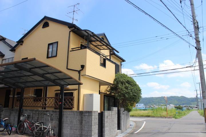 岸和田市八田町の美しい外壁塗装