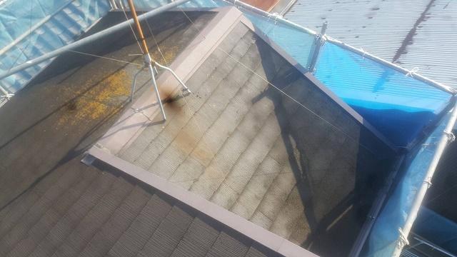 和泉市の屋根塗装前の現況