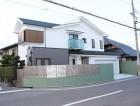 岸和田市上松町のアーバントーンが映える外壁塗装