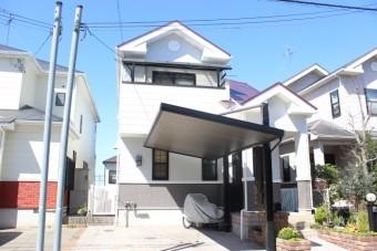 岸和田市包近町の外壁・屋根塗装完了