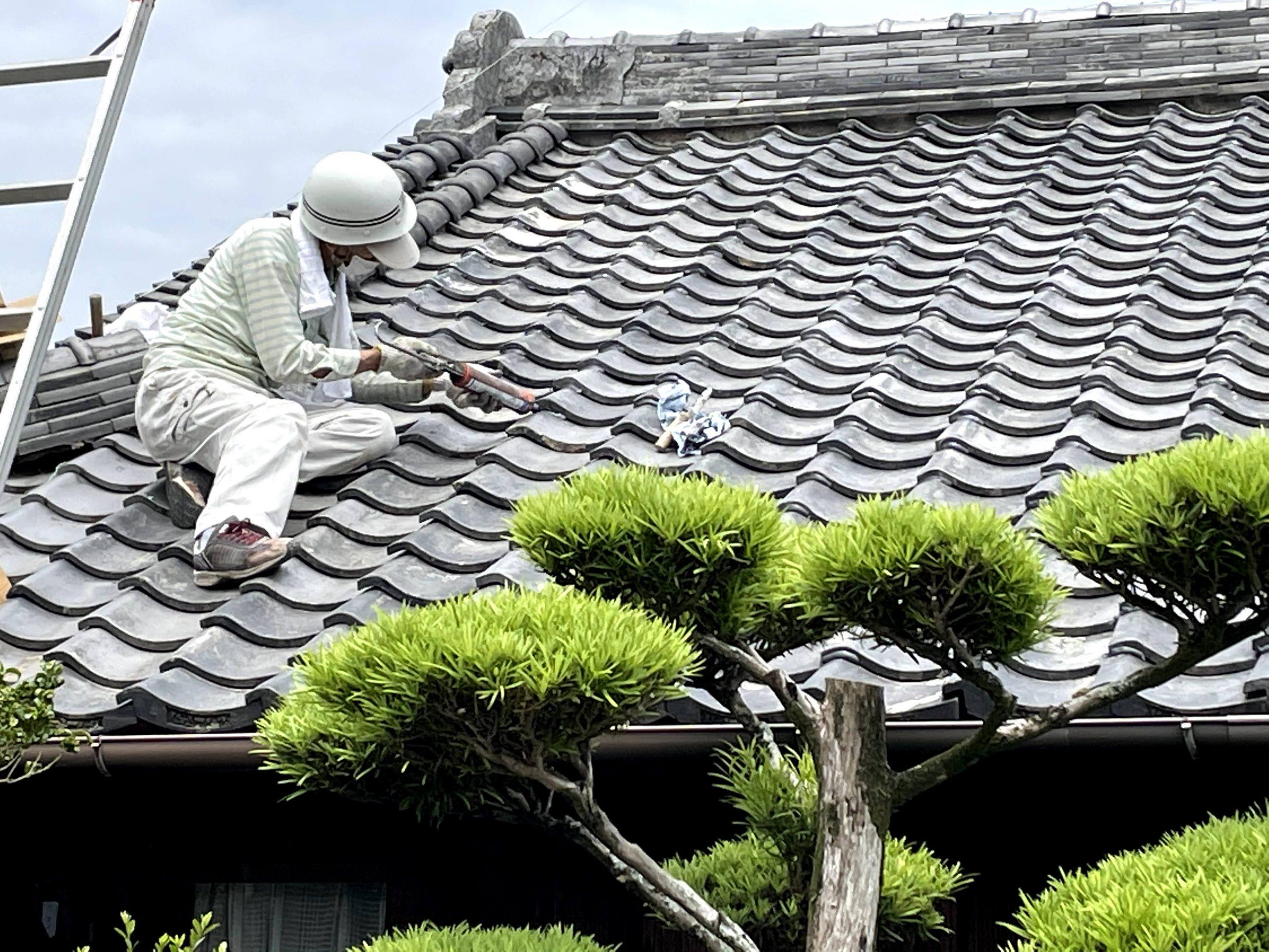 岸和田市の屋根修理