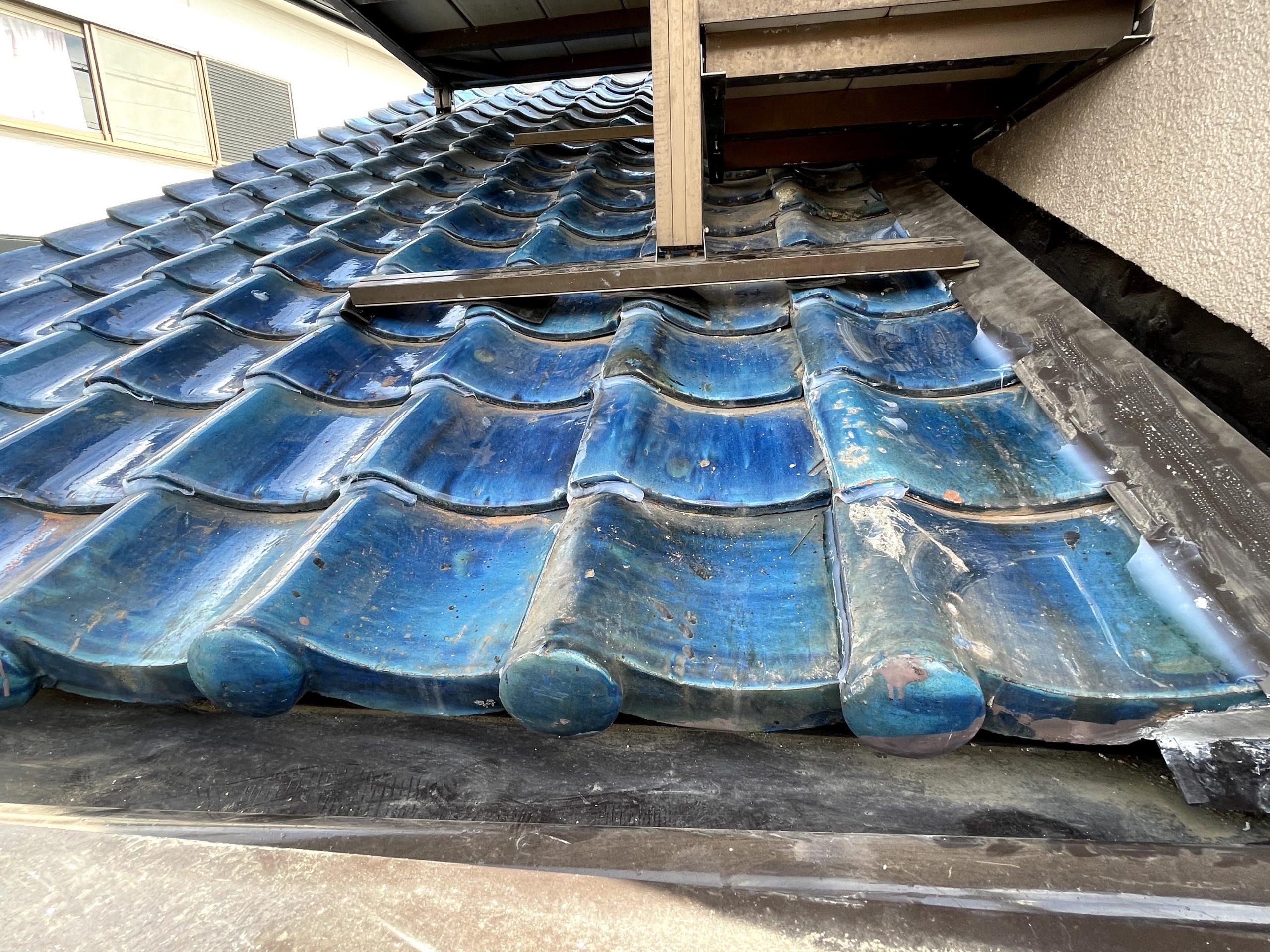 貝塚市の雨漏り修理後