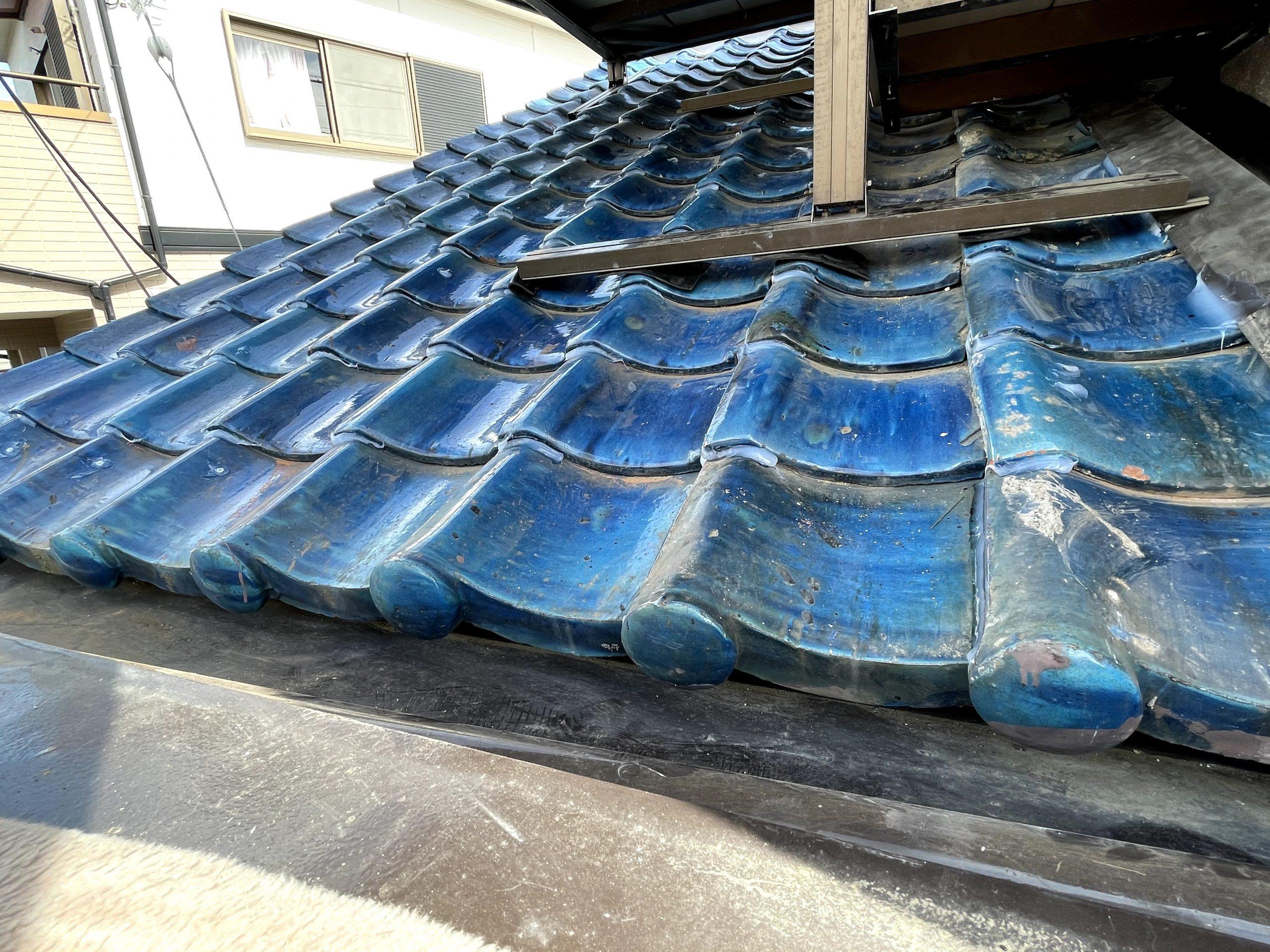 貝塚市で行った雨漏り修理
