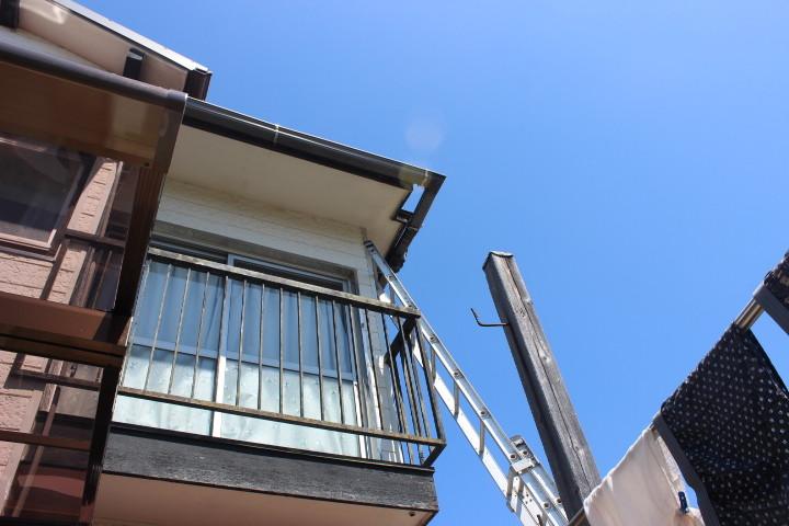 岸和田市雨樋入替工事完了