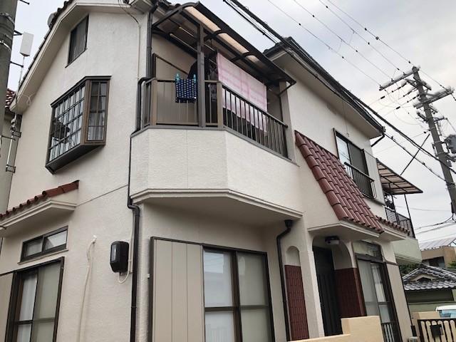 高石市で屋根修理・外壁塗装し第2の人生が楽しみとお客様の声