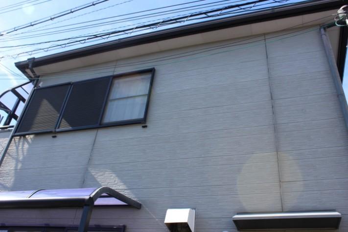 岸和田市西之内町の外壁塗装まえの現況