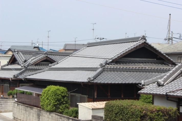 岸和田市土生町の屋根葺き替え完了