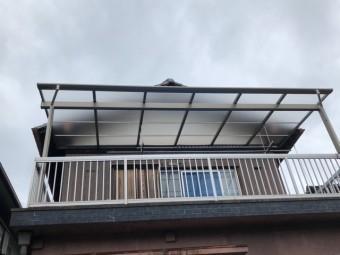 貝塚市のテラス設置完了