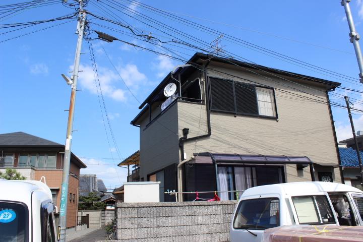 岸和田市西之内町の外壁・屋根塗装完了