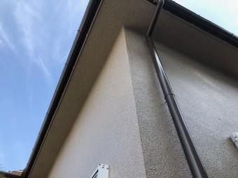 岸和田市の雨樋がピカピカに