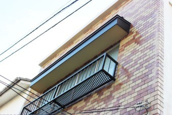 岸和田市の窓の手すり塗装完了
