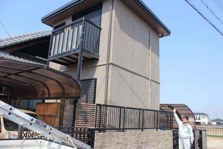 岸和田市の屋根・外壁塗装完了