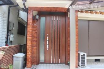 岸和田市の玄関ドア入替