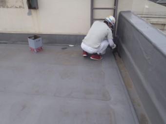 岸和田市の倉庫の屋上防水