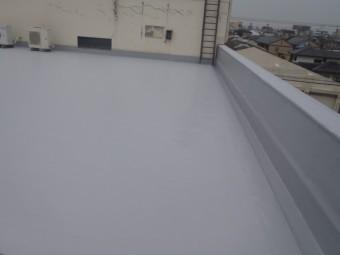 岸和田市の屋上をウレタン塗膜防水
