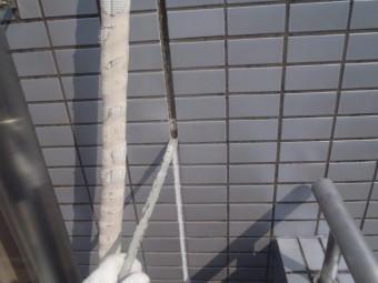 貝塚市石才の外壁の目地シーリング撤去