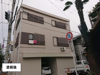 岸和田市の塗装後!