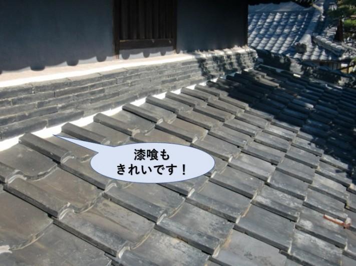 岸和田市西之内町の屋根の状態