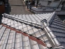 泉佐野市の葺き替え前の屋根